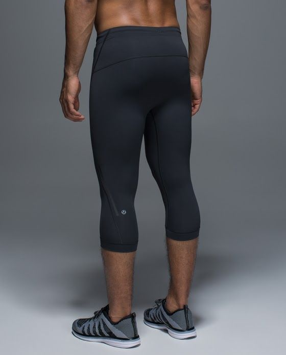 Mens Lululemon 3 4 Tights. Yoga. Running.  9768148dc
