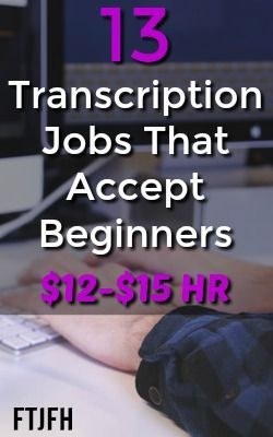 Transcription Jobs That Don T Require Experience Business