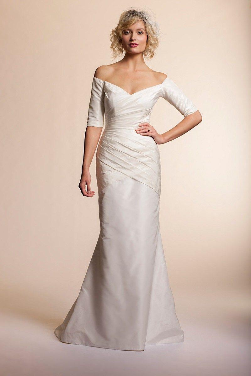 Wishesbridal Taffeta Impressive Trumpet Mermaid Church Wedding Dress Silk Wedding Dress New Wedding Dresses Wedding Dresses [ 1200 x 800 Pixel ]