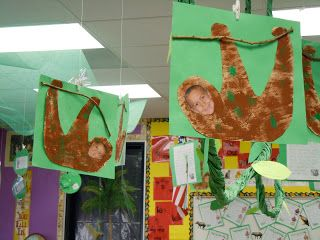First Grade Frolics Rainforest Pictures Have Each Class Do A
