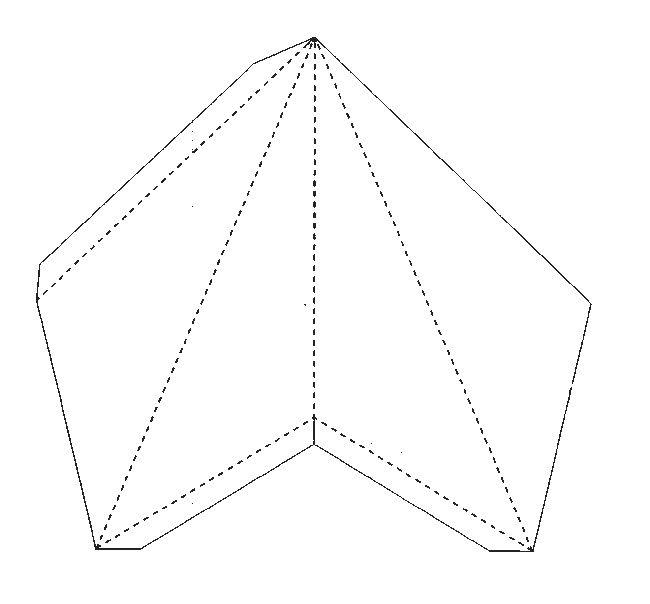 3D Paper Star Pattern