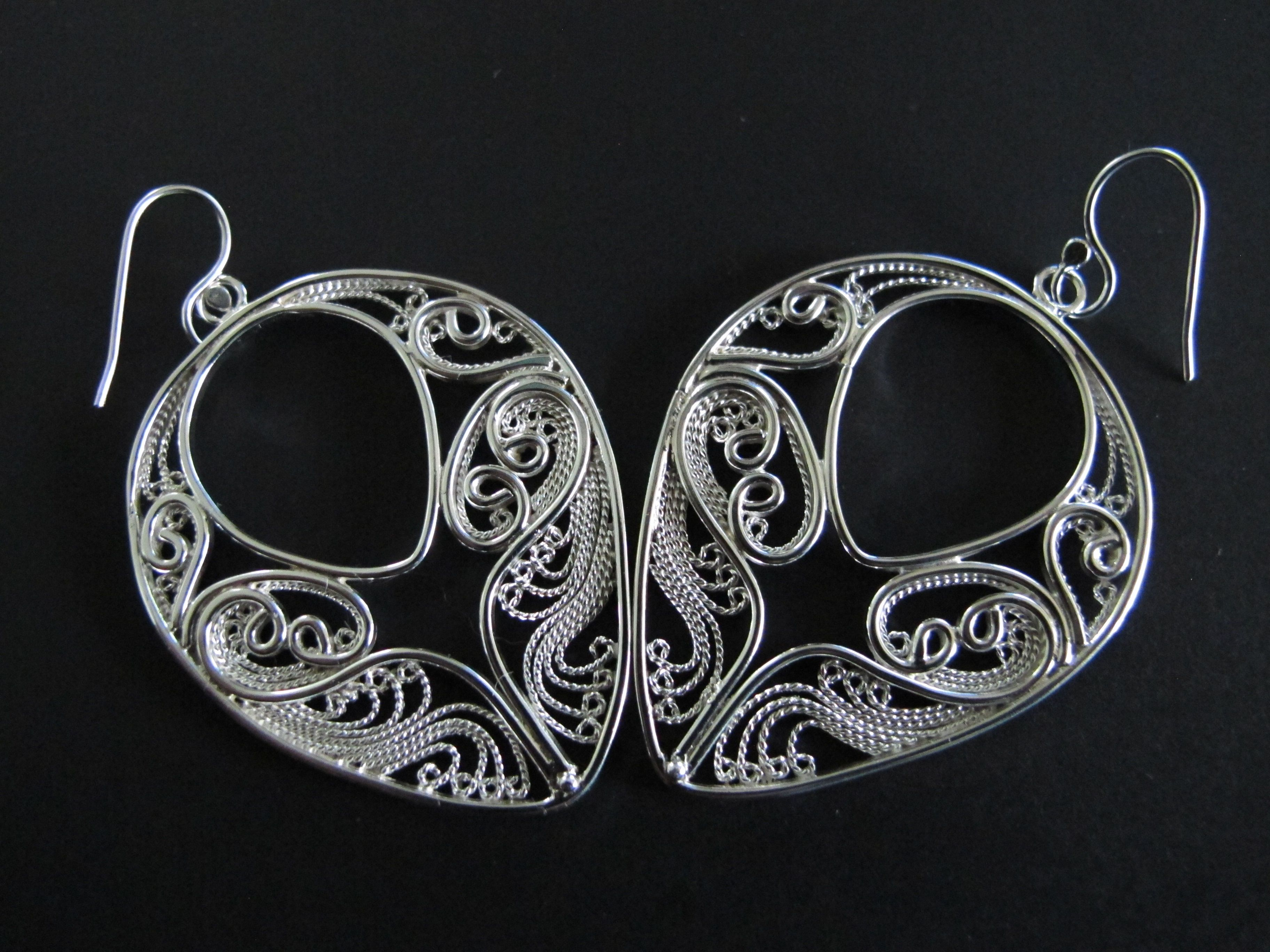 flawless filigree bracelet original product silver