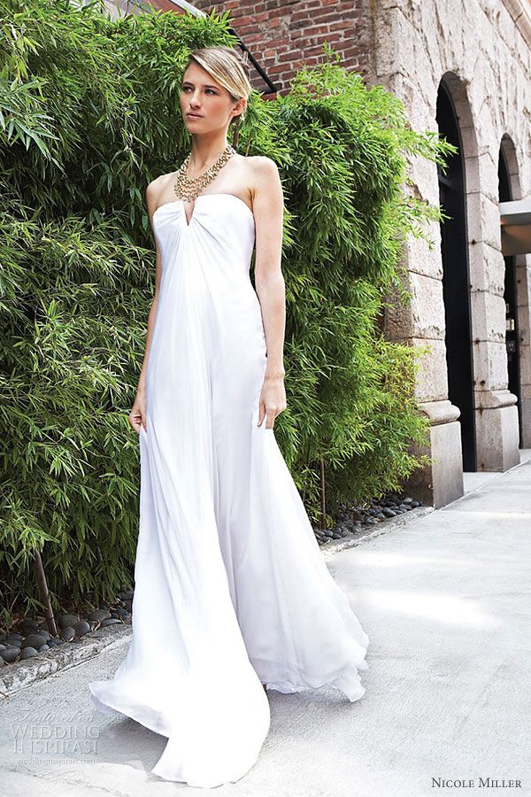 Double Layered Silk Chiffon Strapless Gown   Body Painting   Pinterest