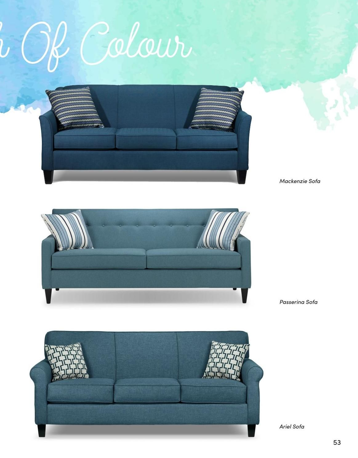 Leon S Mackenzie Sofa Sagging Living Room Furniture The Collection Hello