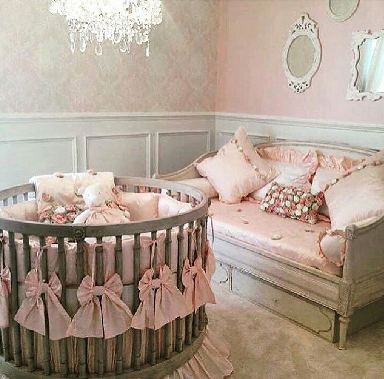 Round Crib Nursery