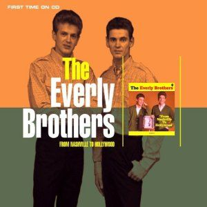 1960's musical band album covers   The Everly Brothers