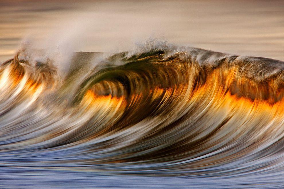 """""""Огненные волны"""" Южной Калифорнии.Фото выглядит как ..."""