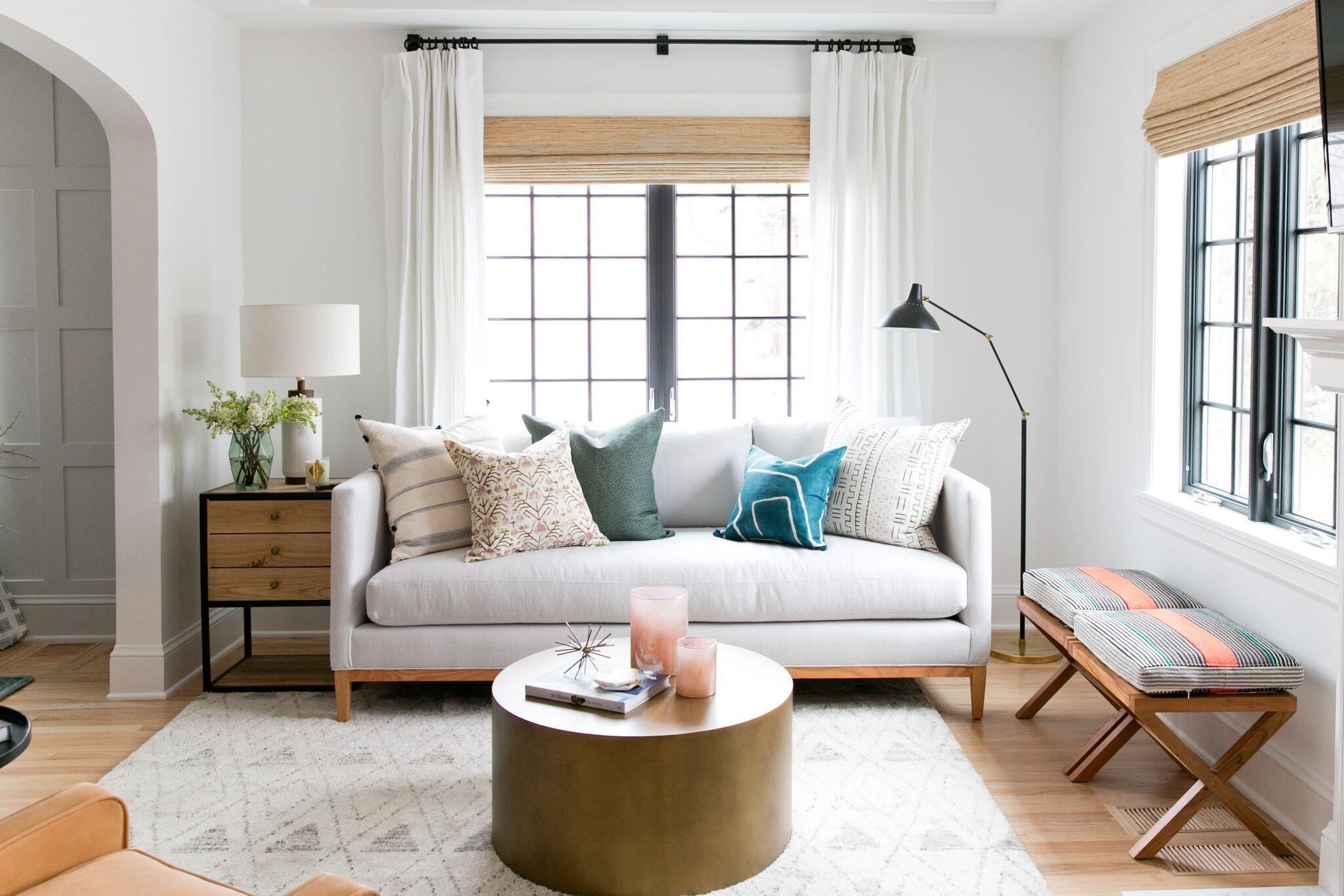 Denver Tudor Reveal Studio Mcgee Pretty Living Room Small Living Rooms Living Room Designs