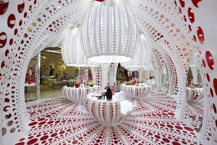 Pop-Up Store from Marc Fornes for Louis Vuitton – Yayoi Kusama