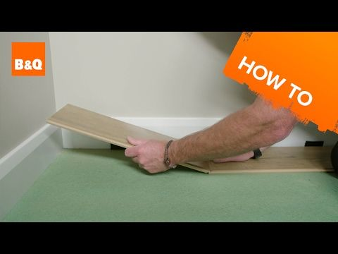How To Lay Laminate Flooring Youtube Home Ideas Pinterest