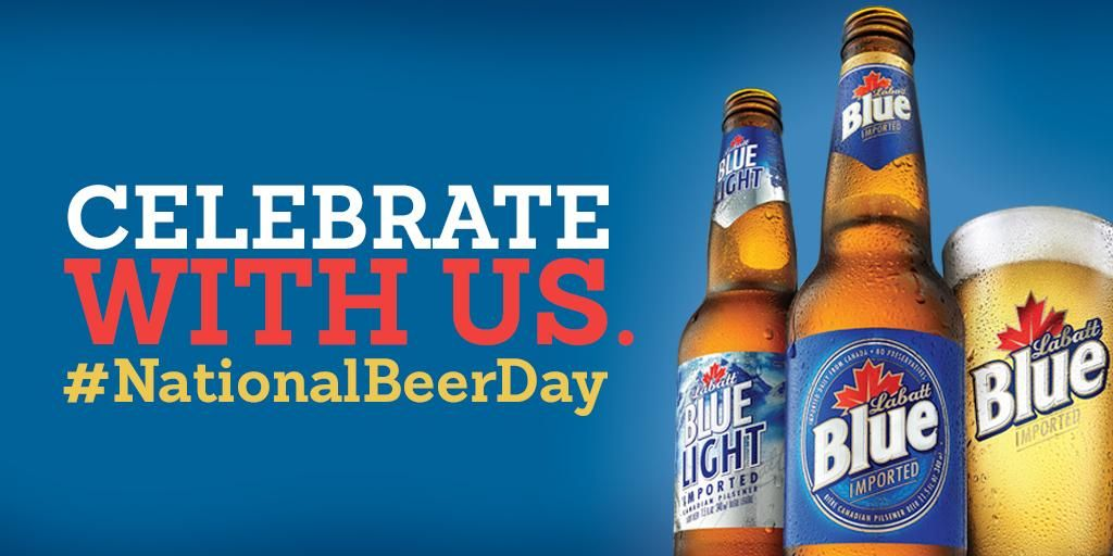 Labatt Blue Light Seltzer On Twitter National Beer Day Corona Beer Bottle Corona Beer