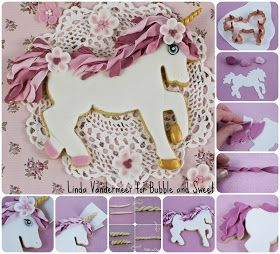 Unicorn Cookie Instructions by Bubble and Sweet