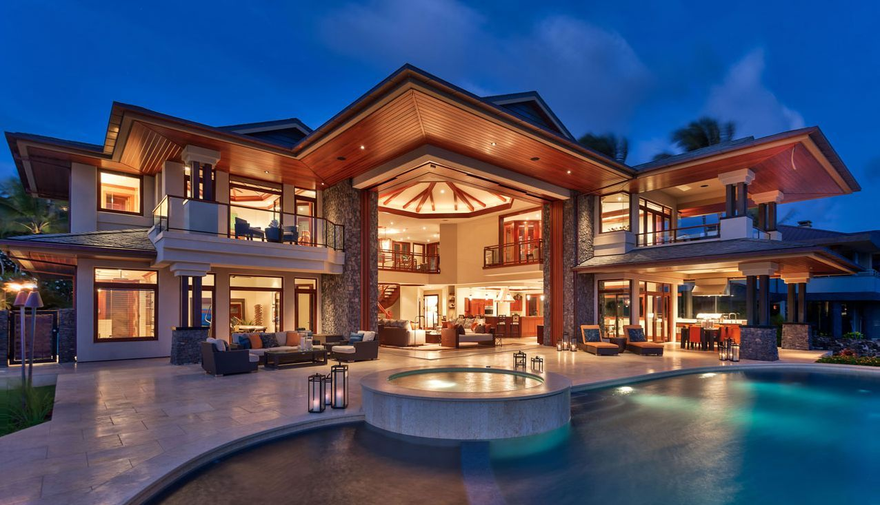 Beautiful Homes In Hawaii House Architecture  Beautiful Beach Houses Design In Hawaii