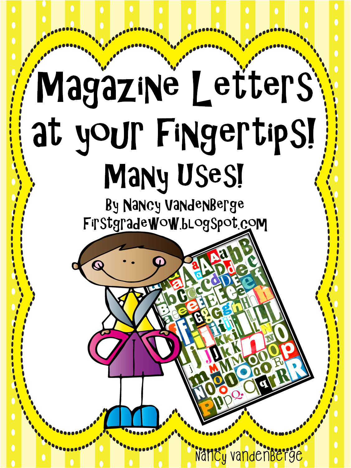 Magazine Letters At Your Fingertips First Grade Wow