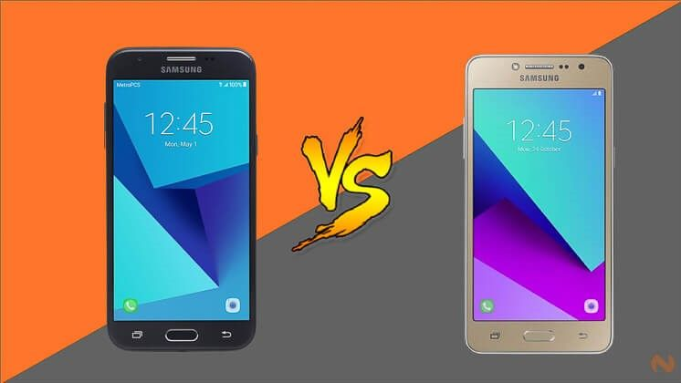 Samsung Galaxy J2 Prime Versus Galaxy J3 Prime 2017 Samsung Samsung Galaxy Galaxy J3