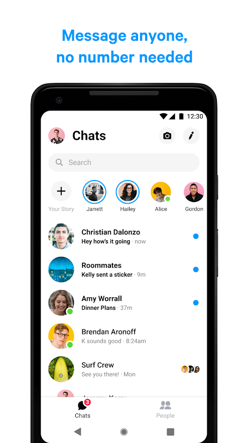 Messenger Text and Video Chat for Free Apps on Google