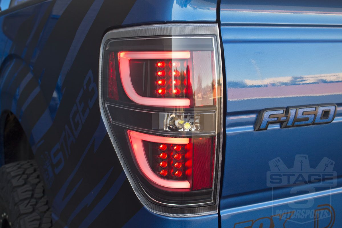 2009 2014 F150 Raptor Anzo G2 Led Taillights Black