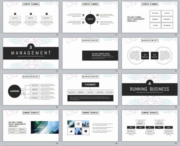 25+ Round Creative business PowerPoint Template Office Creative