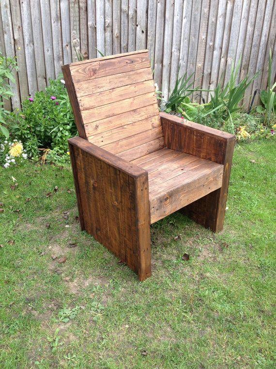 Pallet Garden Chair Garden Chairs Palette Furniture Pallet Walls