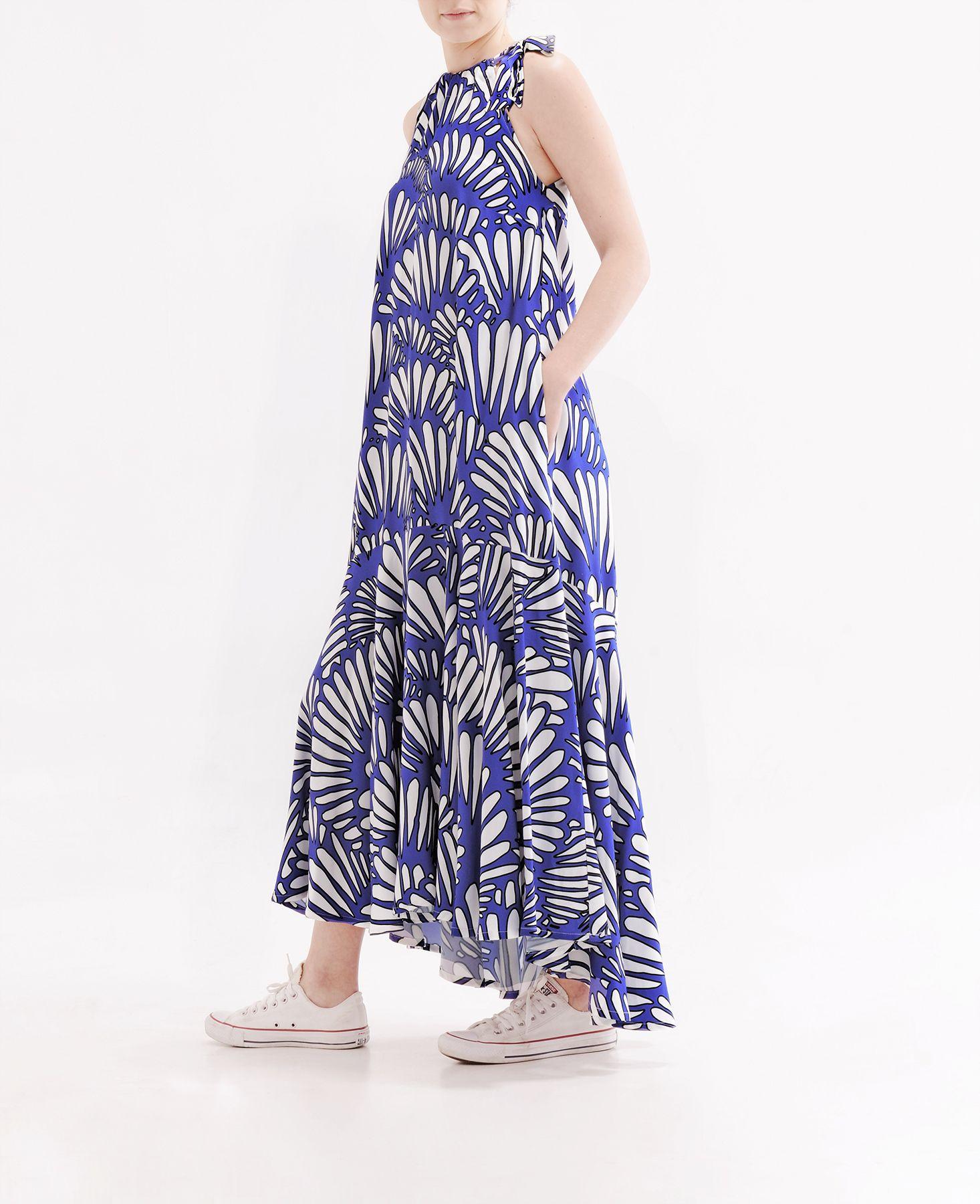 Soft viscose guilin long dress colours patterns prints stampe