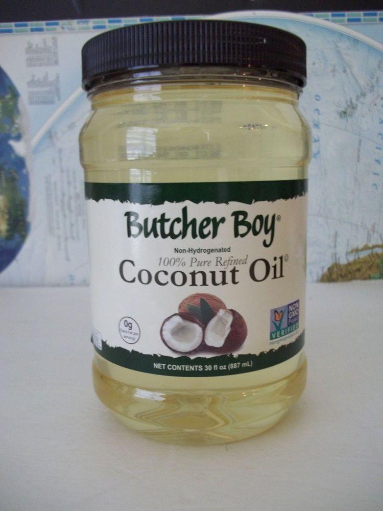 Butcher Boy 100% Pure Refined Coconut Oil Non-GMO Non