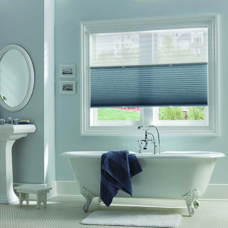 Allow Natural Light To Fill Your Bathroom While Providing