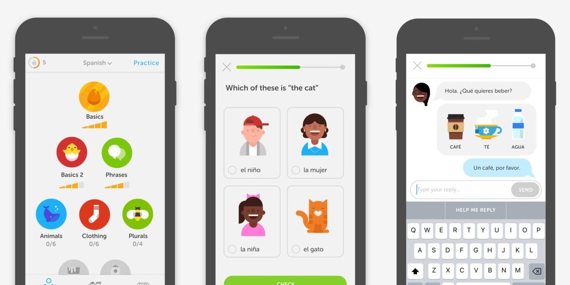 Duolingo App Now Lets You Learn a New Language With Family and - spreadsheet app for iphone 6