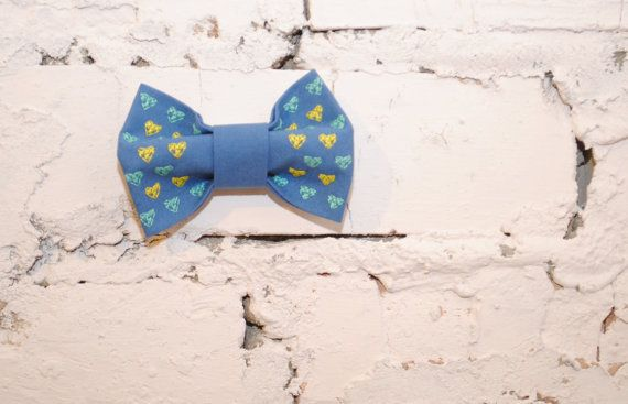 FREE SHIPPING Embroidered women's bow tie in by accessories482