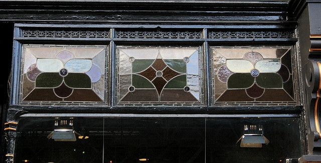 Leaded fan light windows