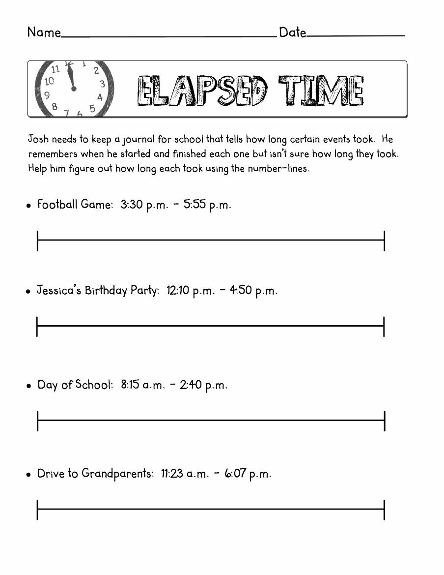 hight resolution of Elapsed Time   Scribd   Elapsed time worksheets