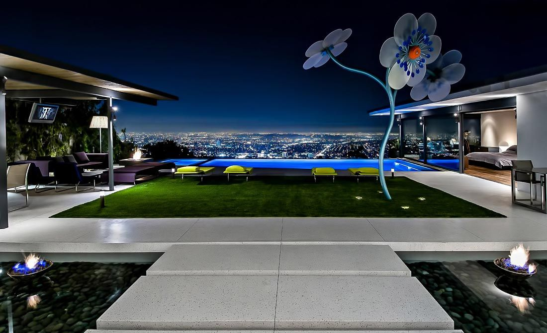Mansion Dream House: Extraordinary Luxury Residence Of Matthew Perry In Los  Angeles, CA Photo Gallery