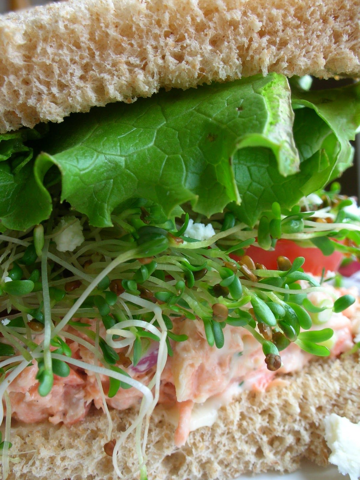 Salmon Salad - next time I cook salmon I'll  oook extra so I can make this the next day!