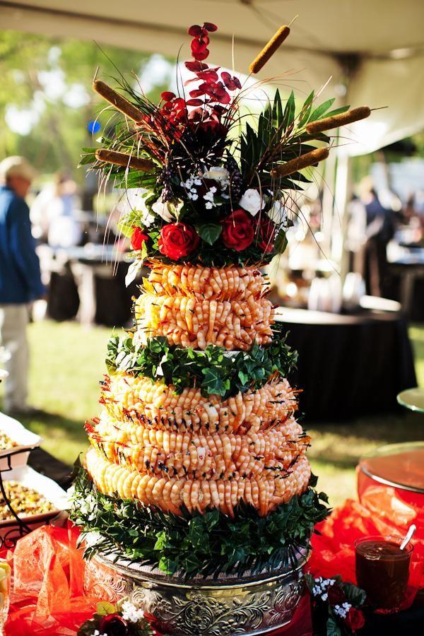 Food Shrimp Tower Cocktail