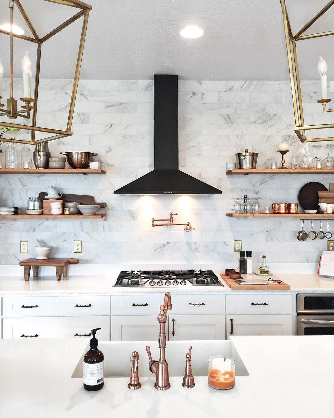 Design Inspirations Copper Madness Rose Gold Kitchen House