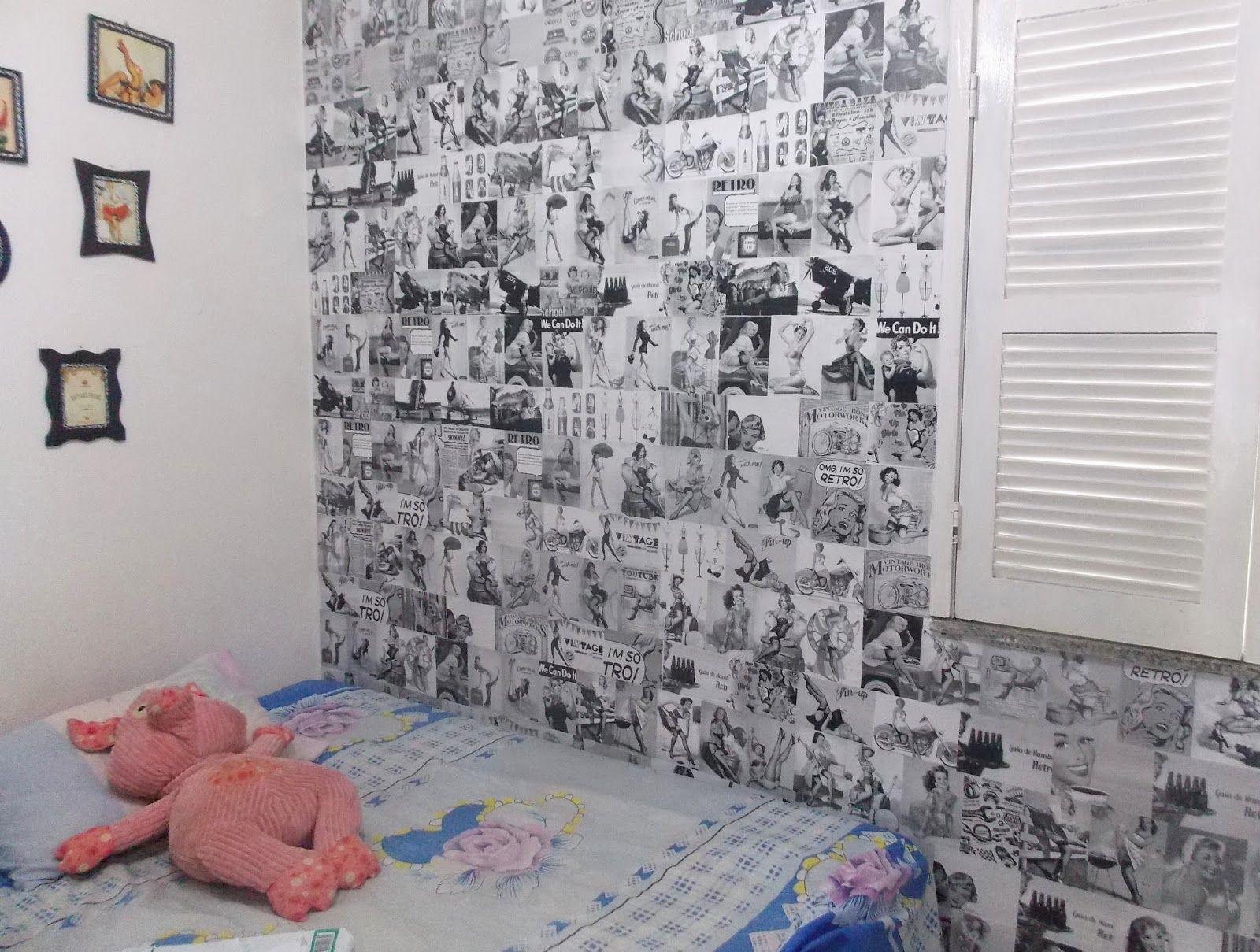 Blog Ana Carvalho | Lifestyle e Customização: DIY: faça seu próprio papel de parede
