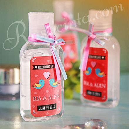 Share The Love Not The Germs Hand Sanitizer 50th Wedding