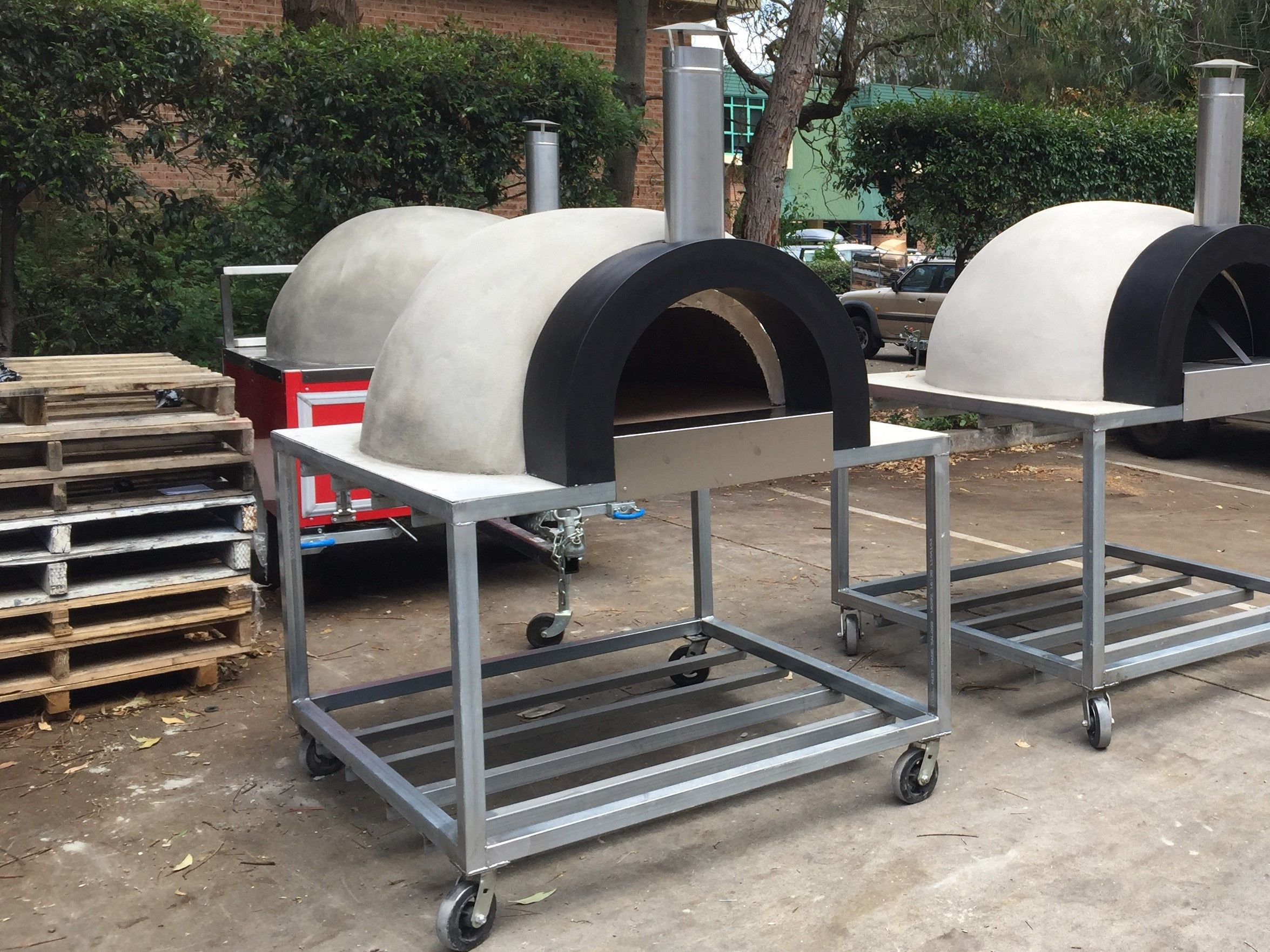 Buy Calabrese Entertainer Woodfired Pizza Oven Diy Kit