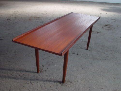Tisch Modern Design coffee table teak modern design 60er 60s tisch