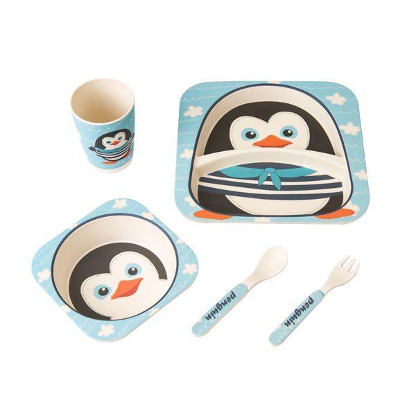Bamboo Fiber Baby Feeding Tableware Dishware Promotional Biodegradable Kids Dinnerware Set Kids Feeding T Kids Melamine Kids Dinnerware Set Kids Dinnerware
