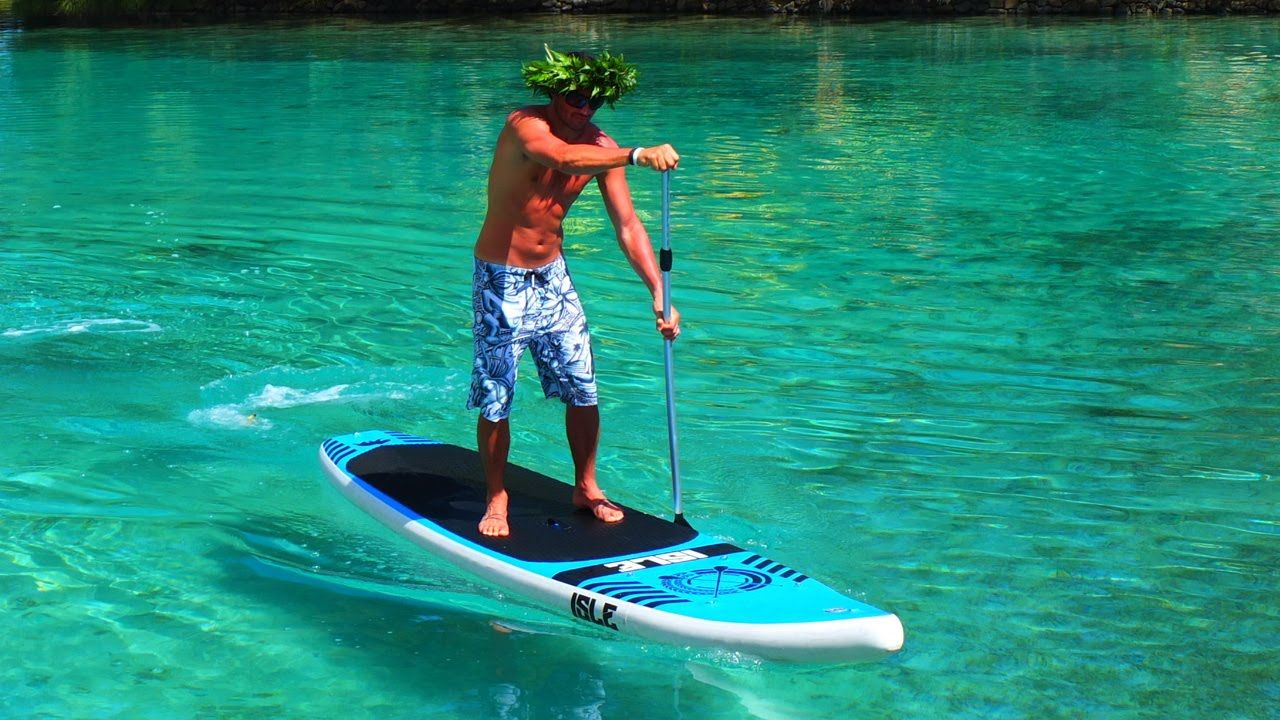 Stand up paddle board ornament - Isle Inflatable Stand Up Paddle Board Review