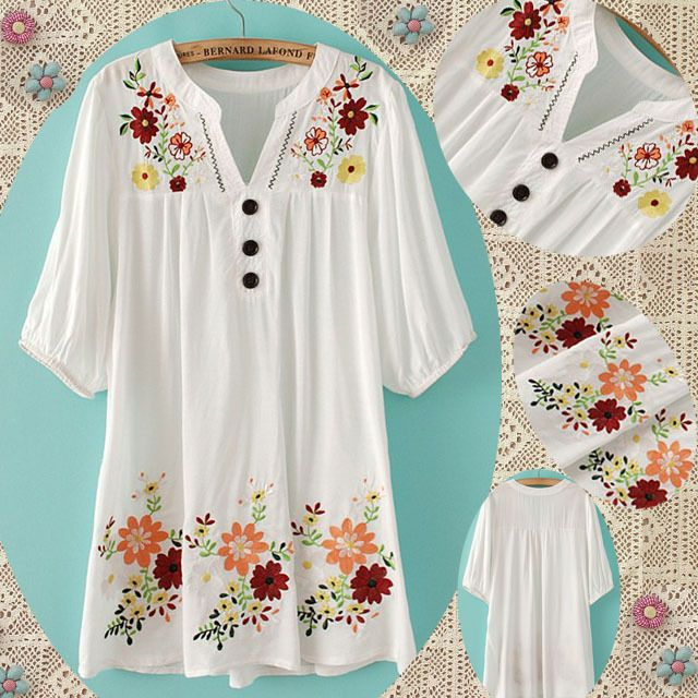 Mexican Peasant Dress Plus Size Ibovnathandedecker