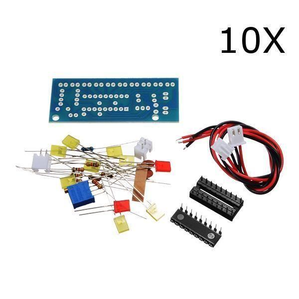 10pcs diy lm3915 audio level indicator electronic production suite rh pinterest com Electronic Hobby Circuits Schematics Electronic Hobby Circuits Schematics