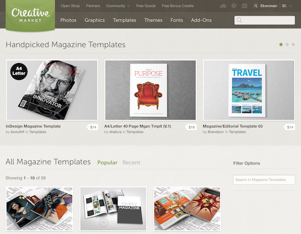 9 great places to sell your templates and themes | creativepro, Presentation templates