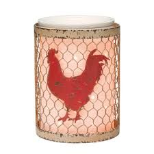 #scentsy fall warmer called #coop This is perfect for all the #chicken collectors  $40 https://babbscents.scentsy.us/Scentsy/Buy