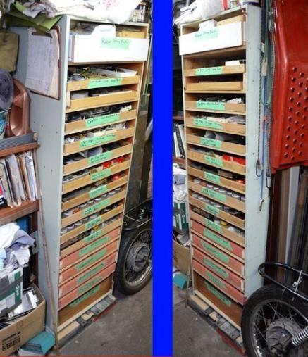Best Industrial Storage Bins Garage Ideas #storage