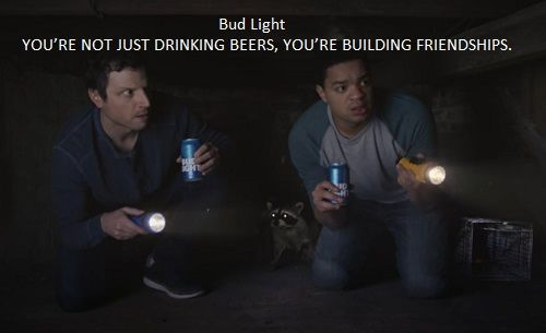 Bud light 2017 between friends super bowl bud light and bowls bud light 2017 between friends super bowl commercial youre not just drinking beers aloadofball Choice Image