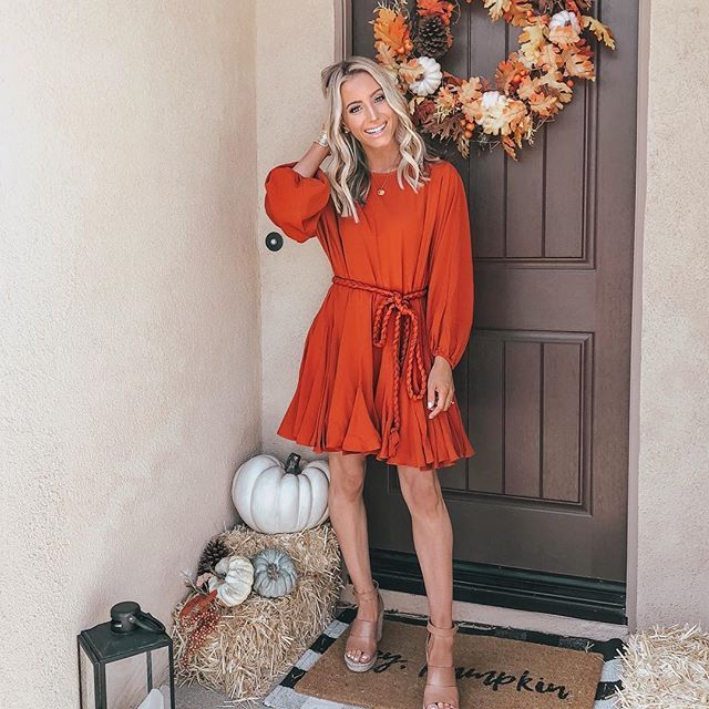 bca41f8da20b the perfect dress for Thanksgiving Dinner or any Fall activity ...