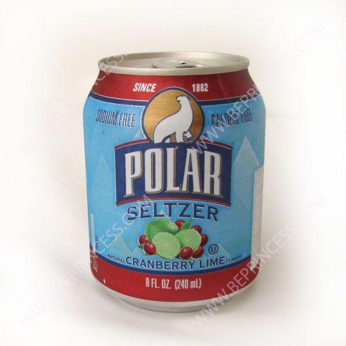 B E Princess Sparkling Water Canning Polar Bottle