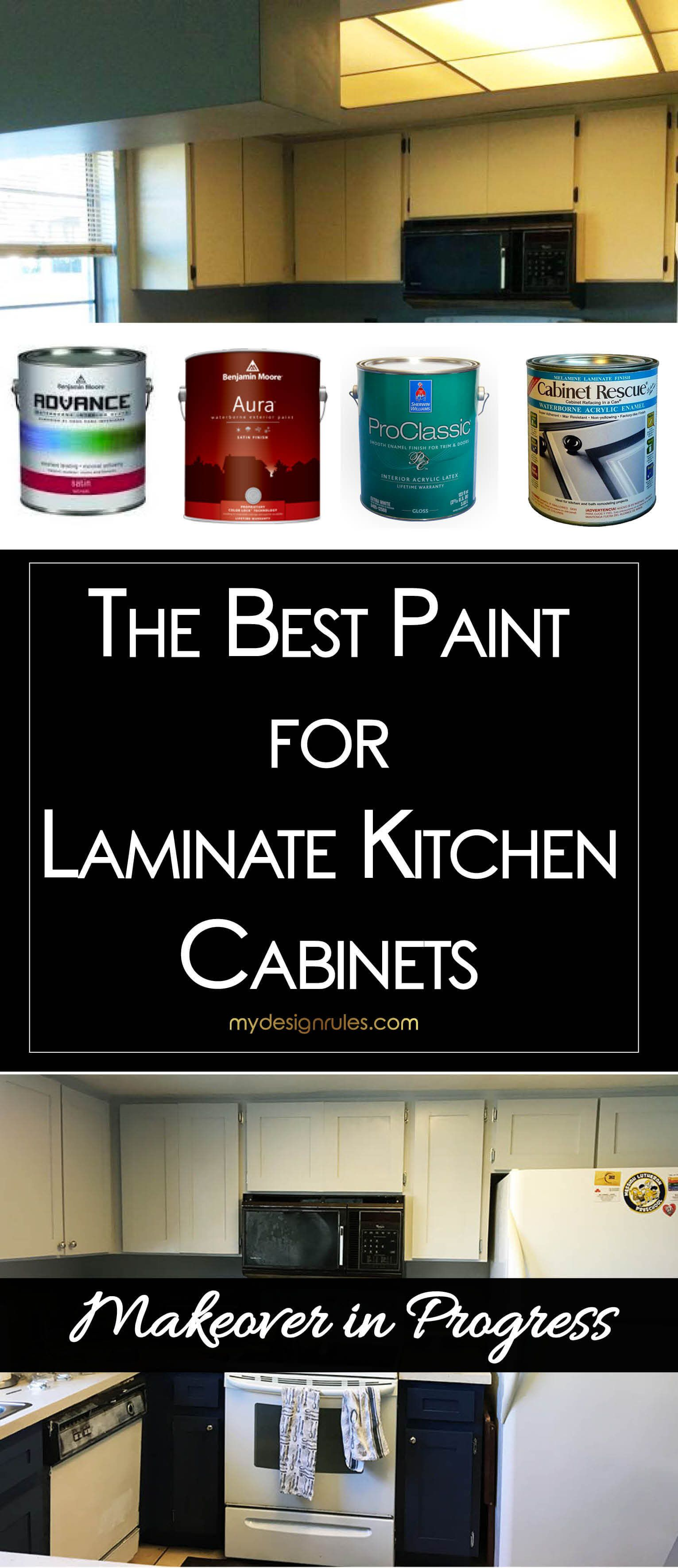 What's the Best Paint for Laminate Cabinets? (With images ...