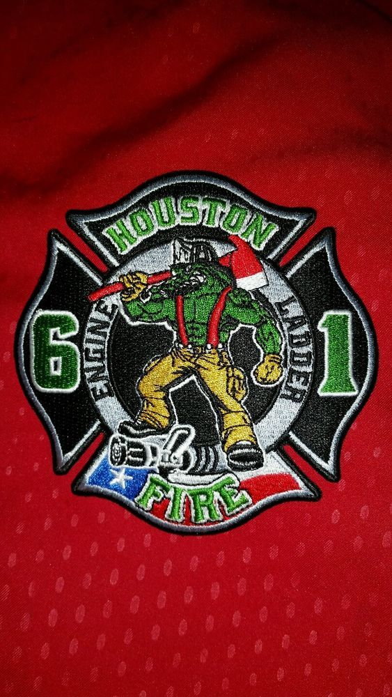 Details about Official Houston Fire Department Station 61